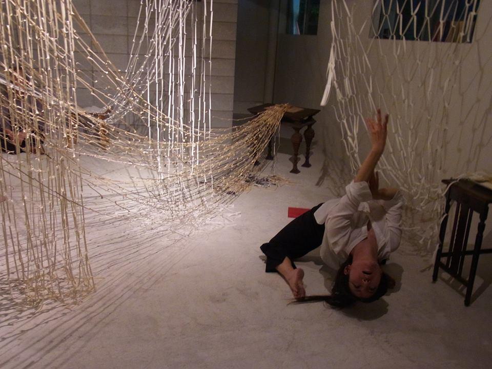 madoka.fu2yuan2_『新しい物語を編む』平川渚作品展にて